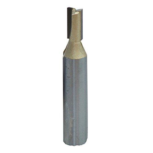 Connex COM610812 Nutfräser HSS mit Hartmetallschneiden, ø 12 mm, Schaft 8 mm