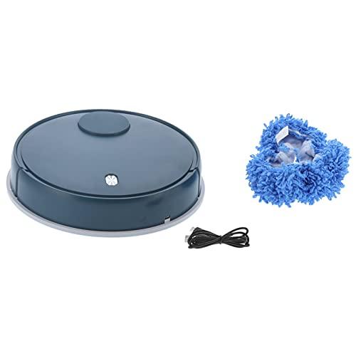 Soprobot, Smart Hushållssopare, Multifunktionell Rengöringsrobot med USB-laddningsport, Mopprobot, för Sovrum/Kontor/Vardagsrum/Slätt Golv(grön)