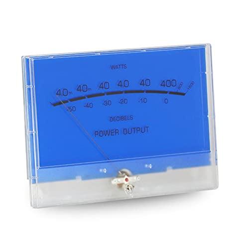 Medidor de potencia DB Cabezal de medidor de amplificador de potencia Medidor de nivel VU P-200 Medidor de audio de volumen Cabezal de medidor grande Amplificador de potencia de alta precisión Fiebre