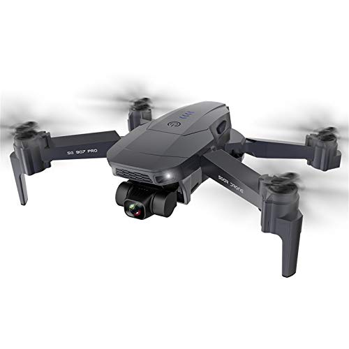 TLoowy-Clearance 2020 New SG907 Pro Drone Quadcopter GPS 5G WiFi 4k HD Mechanical 2-Axis Gimbal Camera Supports TF Card RC Drones Distance 800m