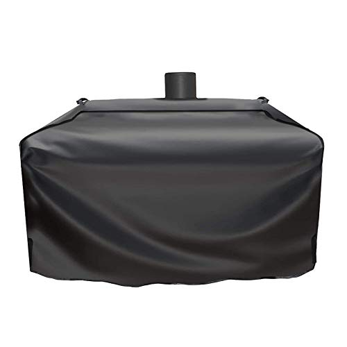 Grisun PS9900 Grill Cover for Smoke Hollow Gas/Charcoal Grill, Pit Boss Memphis Ultimate Grill GC7000 DG1100S 4in1 Combo Grill, Pit Boss KC Combo Platinum Series Heavy Duty and Waterproof Grill Cover