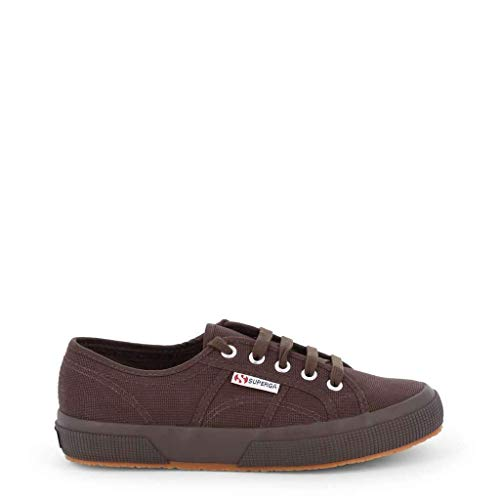 Superga , Herren Espadrilles Braun Full Dark Chocolate 35 EU