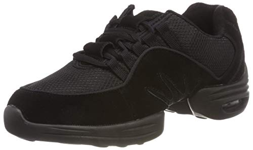 RUMPF Scooter Sneaker geteilte Sohle schwarz