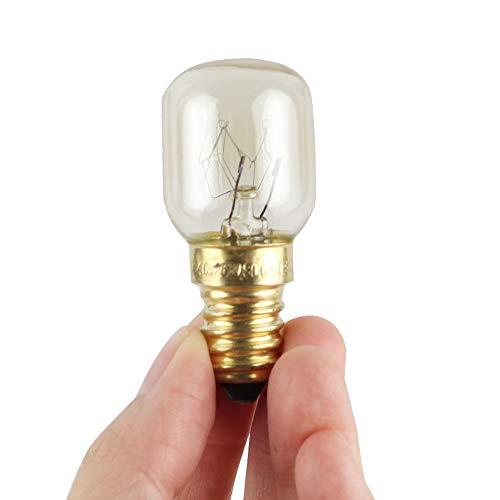 Ovenlamp magnetronlampen met hoge temperatuurbestendigheid van 300 graden E14 kleine zoutkristallen lamp gerookte gloeilamp (15W 25W)