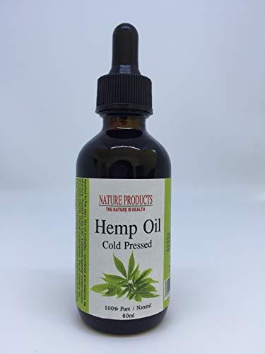 Hanföl (Cannabis Sativa) - Kaltgepresst - 100{c1c365188d6519431346333154d9b6a85daab5b1cbe4fbd1c9adc8aec6361a14} Reines & Natürlich - Glasflasche - Hanf Öl - Intensive Pflege für Gesicht - Haare - Körperpflege - direkt vom Hersteller (30)