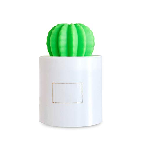 JSQZOD Usb Cactus Humidificador De Aire Humidificadores Ultrasónicos Con Luz Nocturna Hacedor De Aromaterapia Difusor Mist Maker Para El Hogar Coche 280 Ml
