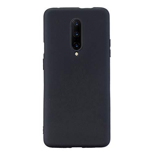 Grandcase OnePlus 7 Pro, capa protetora ultrafina de silicone macio TPU fosco absorção de choque anti-queda para OnePlus 7 Pro 6,7 polegadas – preta