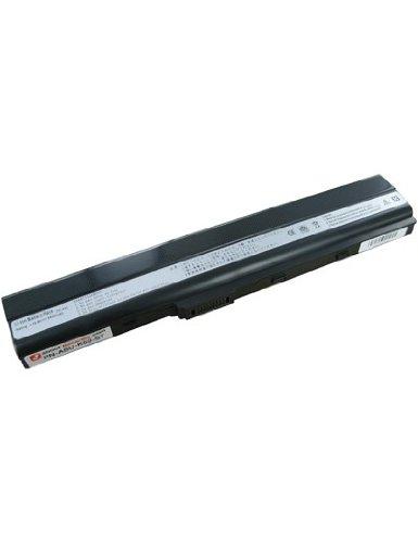 Batterie pour ASUS A42D, 10.8V, 4400mAh, Li-ion