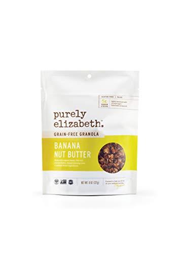 purely elizabeth Grain-Free & Gluten-Free Granola, Banana Nut Butter, 8 oz