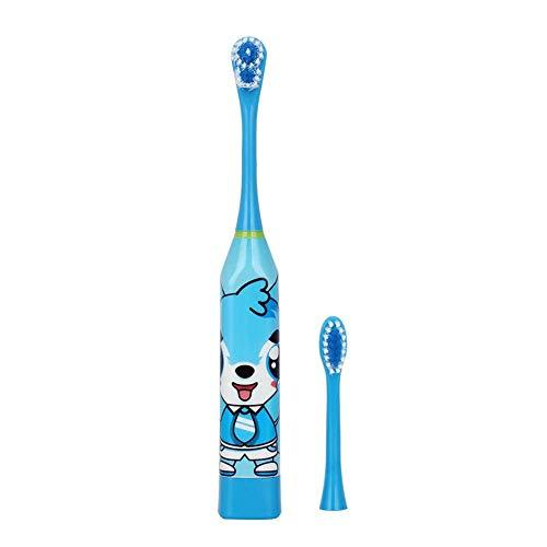 NELNISSA Nellnissa Elektrische Zahnbürste für Kinder, Ultraschall, wasserdicht, Blau
