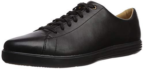Cole Haan Men's Grand Crosscourt II Sneaker, black leather/black, 10 Medium US