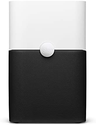 Blueair Blue Pure 211+ Air Purifier 3 Stages with Two Washable Pre-Filters, Particle, Carbon Filter, Captures Allergens, Odors, Smoke, Mold, Dust, Germs, Pets, Smokers, Large Room