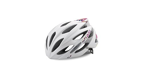 Giro Casco de Bicicleta Sonnet, Rose, Todo el Año, Mujer, Color Mat White Floral, Tamaño Medium