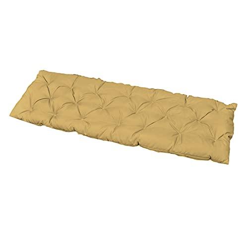 Gazechimp Cuscino per Panca Mobili da Giardino in Cotone Cuscino per divanetto Decorativo Morbido Spesso Confortevole Decorazione per Sedile Rimovibile - Cachi 150x50cm