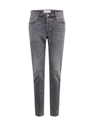 Calvin Klein Ckj 058 Slim Taper Jeans, Ca096 Grey, W30/L34 Hombre