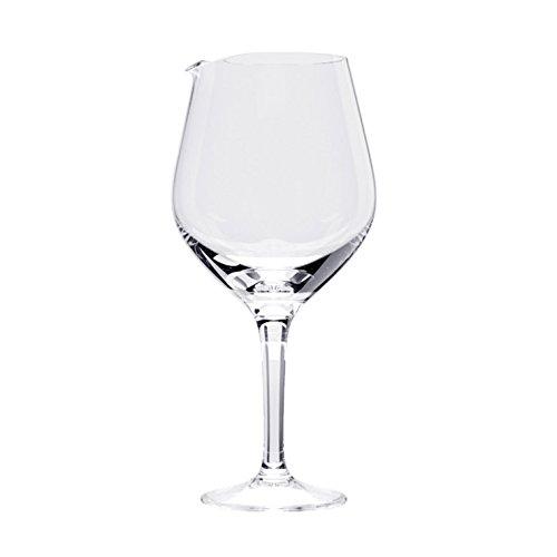 CKB LTD® - Decanter per calici da vino, misura XL, 1,8 l, extra large, a forma di grande bicchiere di vino, contiene 2 bottiglie di vino per cocktail e sangria.