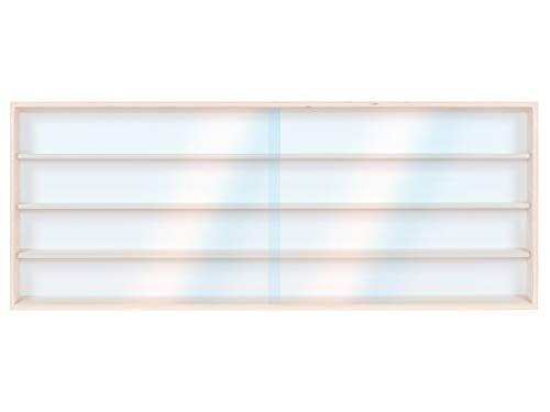 V140.4A vitrine spoor HO & N rek H0 140 cm 4 vakken met groeven