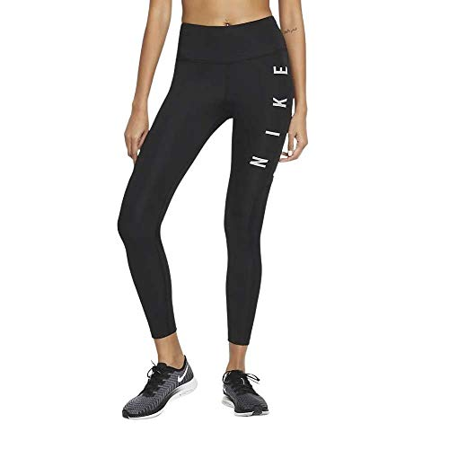 Nike W Run DVN Epic Fast GX Leggings Running Donna Nero, S