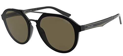 Armani 0AR8131 Gafas, Negro (, 52 para Hombre