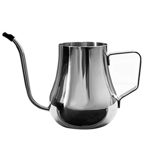 Roestvrij staal Lange Mond pot/Ophangoor Type Hand pot/Druppel Koffiepot, 3 Bekers, Met Anti-Scalding Handvat, Huishoudelijke Theepot