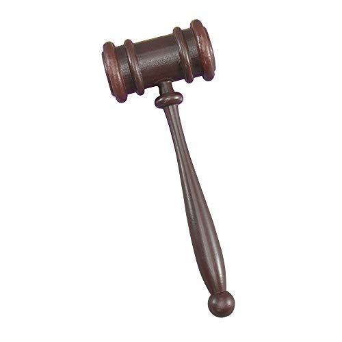 Bristol Novelty - Martillo de Juez para disfraz (Tamaño Único) (Marrón)