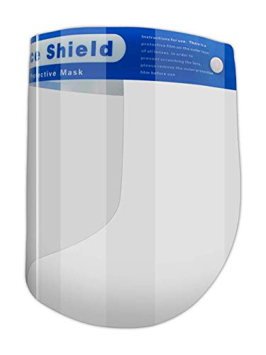 (5 Pre-Assembled Shields) MAGID Reusable Clear Anti Fog Safety Face Shields. $6.70 @ Amazon
