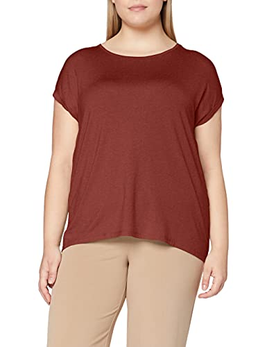 Vero Moda VMAVA Plain SS Top GA Noos Camiseta, Sable, XL para Mujer
