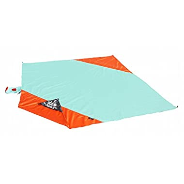 Grand Trunk Parasheet Beach Blanket: Patented Large Portable Sand Proof & Outdoor Nylon Parachute Blankets - Ultralight Packable Family Sand Mat & Neat Sheet for Picnics & Travel - 7' x 7'