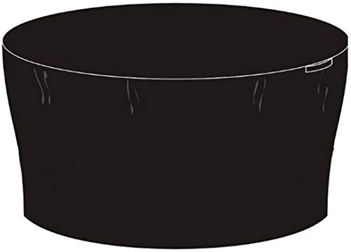 dDanke Black Round Outdoor Garden Furniture Set Cover Patio Table and Chair Set Protective Cover (180x180x90cm)