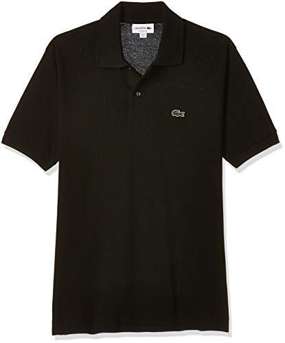 Lacoste Herren Poloshirt L1212, Schwarz (Noir), S