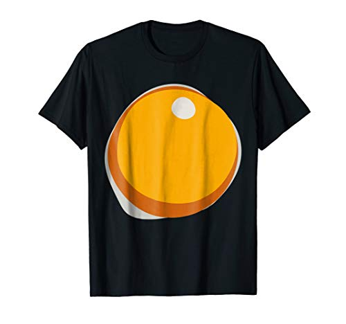 Fried Hard Boiled Egg Yolk Breakfast Halloween Costume Tee