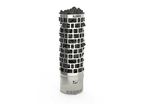 Saunaofen Tower 9 kW Aries SAWOTEC ohne Saunasteine Saunazubehör