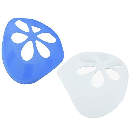 Sufang 2 Stück cooler Lippenstift-Schutz Ständer Nasenpolster verhindert Make-up-Entfernung zum Schutz von Lippenstiften, verbessert den Atmungsraum, hilft zu atmen, für Männer, Frauen, Kinder