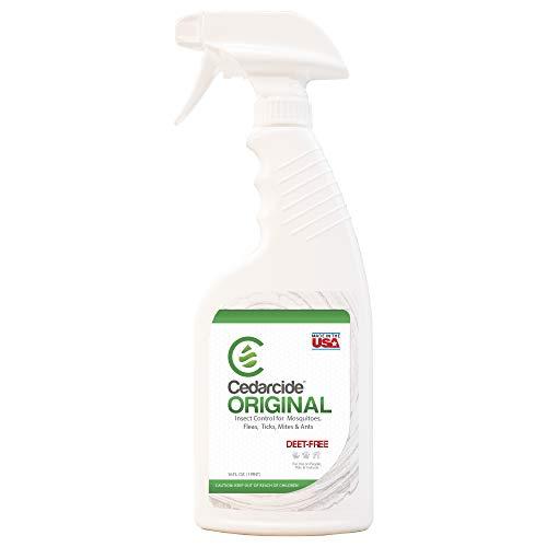 Price comparison product image Cedarcide Original (Pint) Made in USA Flea & Tick Cedar Oil Biting Insect Spray