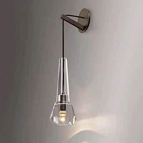 The only good quality Decoración de cobre nórdico moderno minimalista para sala de estar, dormitorio, estudio, baño, ideas de lujo, cristal, 13 x 66 x 19 cm