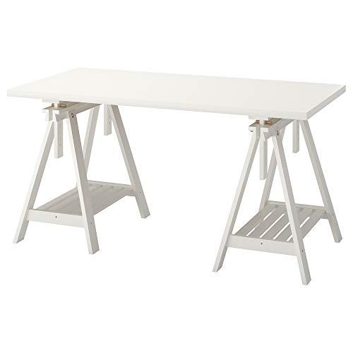 LINNMON/FINNVARD Tisch 75x150cm weiß
