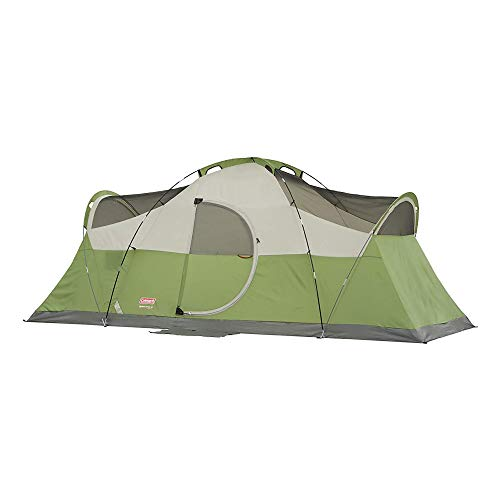 31XCbN+a2YL - Coleman 8-Person Tent for Camping | Montana Tent with Easy Setup
