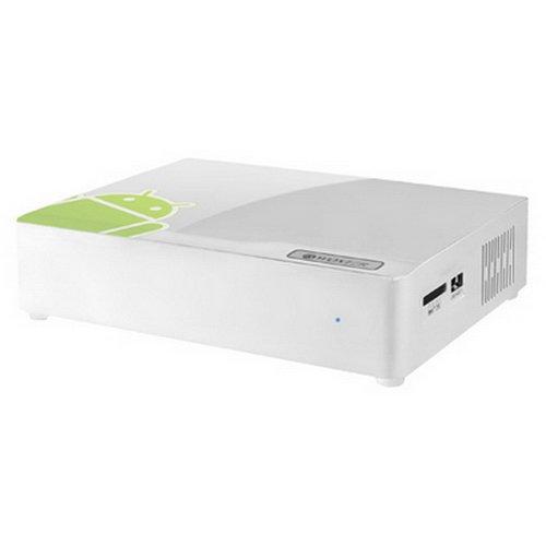 Woxter Android TV 200 - Reproductor multimedia, sin disco duro, Android 2.3, 4 GB memoria, 512 MB RAM, color blanco: Amazon.es: Informática