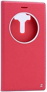 Zore ZRCS-ASZNF2DL-PU04 ZORE DOLCE ZENFONE 2 RED PU KILIF kapaklı kılıf
