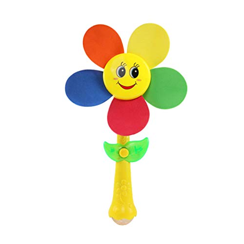 ZEELIY Abkühlen Lassen Baby scherzt pädagogisches Spielzeug-buntes Karikatur-Spielwaren-nettes Sonnenblume-Sommer-Spielzeug