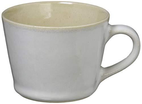 つかもと(Tsukamoto) デミタスカップ ホワイト 200ml 益子焼 コーヒーカップ 伝統釉シリーズ 糠白釉 KKC-5