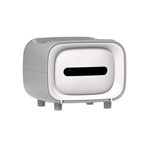 Dispensador de Toallas de Papel,Soporte para teléfono móvil Dispensador de Papel higiénico sin núcleo Bolsas de Basura Dispensador de Interruptor magnético ome Dispensador de extracción de Papel