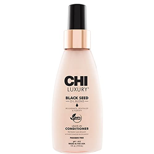 CHI Luxury Black Seed Oil Leave-In Conditioner, 4 Fl Oz