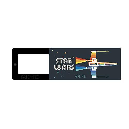 Original Star Wars Webcam Cubierta Deslizante para Ordenador portátil, Ordenador, cámara Delgada Cubierta para privacidad, Material ABS, diseño único, 13 x 30 x 2 mm