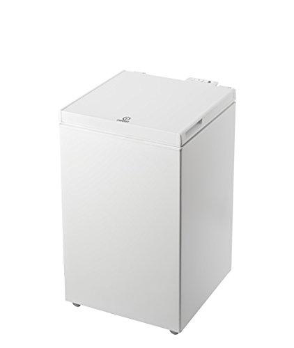 Indesit OS 1A 100 2 - Congelatore Verticale (Classe A+, Capacità Lorda 100 Litri), Bianco