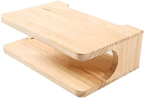 estanteria power rack metal y madera