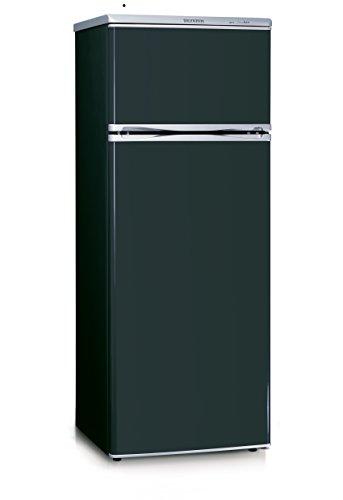 SEVERIN Doppeltür-Kühl-/Gefrierschrank, 166 L/46 L, Energieeffizienzklasse A++, KS 9794, Schwarz