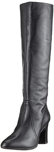 Unisa Damen Union_NT Hohe Stiefel, Schwarz (Black Black), 41 EU