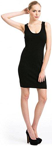 Citizen Cashmere Tank Top Dress - 100% Cashmere (Black M) 35 201-02-02