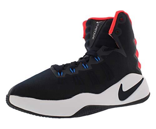 Nike Hyperdunk 2016 (GS), Zapatillas de Baloncesto para Niños, Negro (Dark Obsidian/Bright Crimson-White), 36 EU